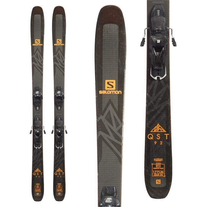 Salomon QST 92 Skis + Marker Griffon 13 Demo Bindings 2019