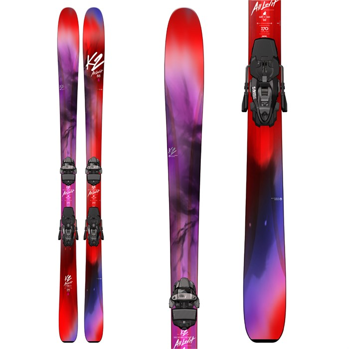 K2 - Alluvit 88 Ti Ski + Marker Squire 11 Demo Bindings Skis - Women's 2019 - Used