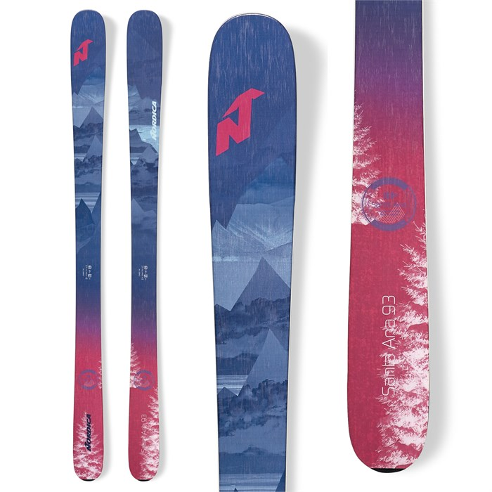 Nordica - Santa Ana 93 Skis - Women's 2020
