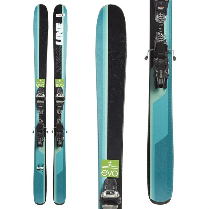 Line Sick Day 104 Skis + Marker Griffon 13 Demo Bindings