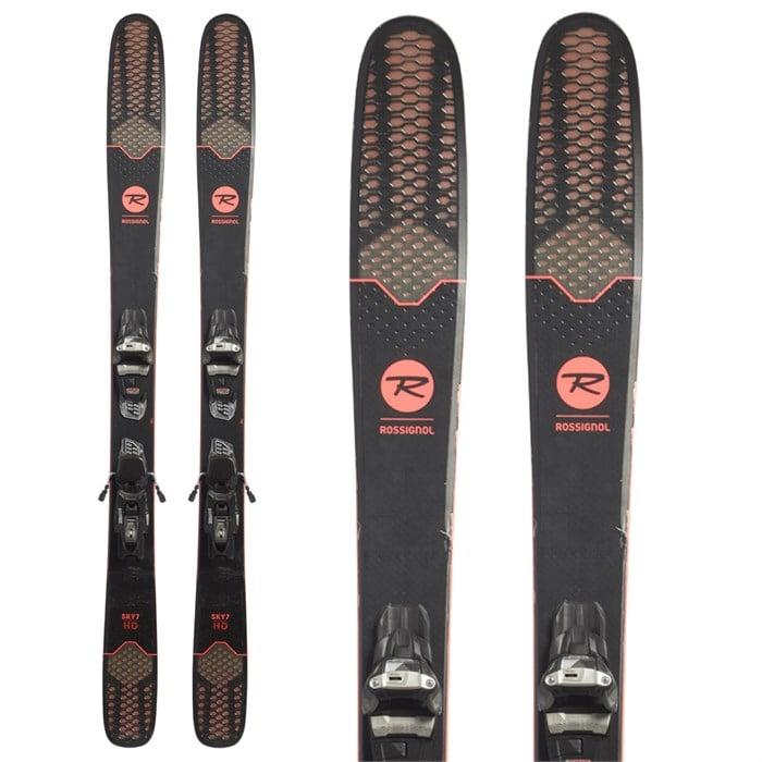 Rossignol Sky 7 HD Skis + Marker Squire 11 Demo Bindings