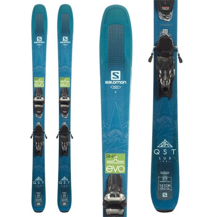 Salomon QST Lux 92 Skis + Marker Squire 11 Demo Ski
