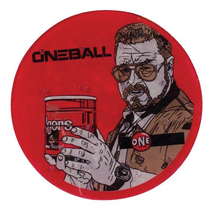 """OneBall - Walter 6"""" Round Stomp Pad"""