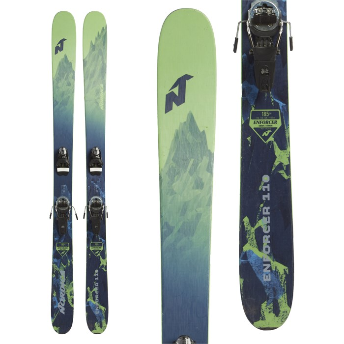 Nordica Enforcer 110 Skis + Look Pivot 14 Dual WTR