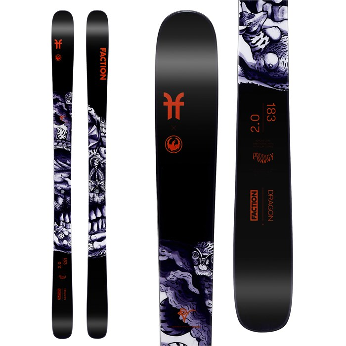 Faction - Prodigy 2.0 Collab Skis 2020