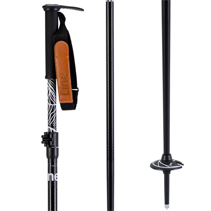 Line Skis - Pollard's Paintbrush Ski Poles 2020