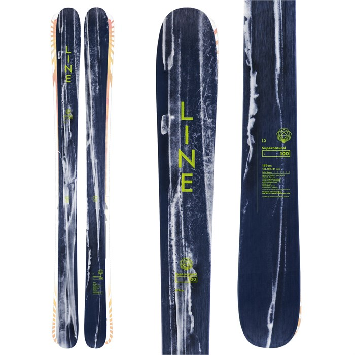 Line Skis - Supernatural 100 Skis 2020