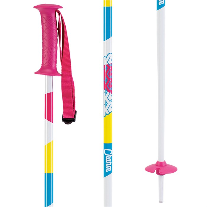 K2 - Charm Ski Poles - Little Girls' 2020