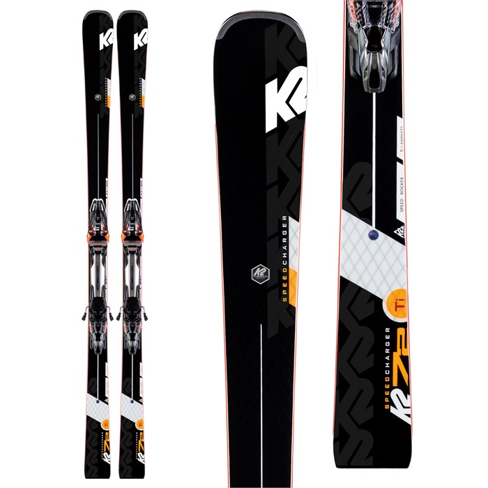 K2 - Speed Charger Skis + MXCell 14 TCx Bindings 2020