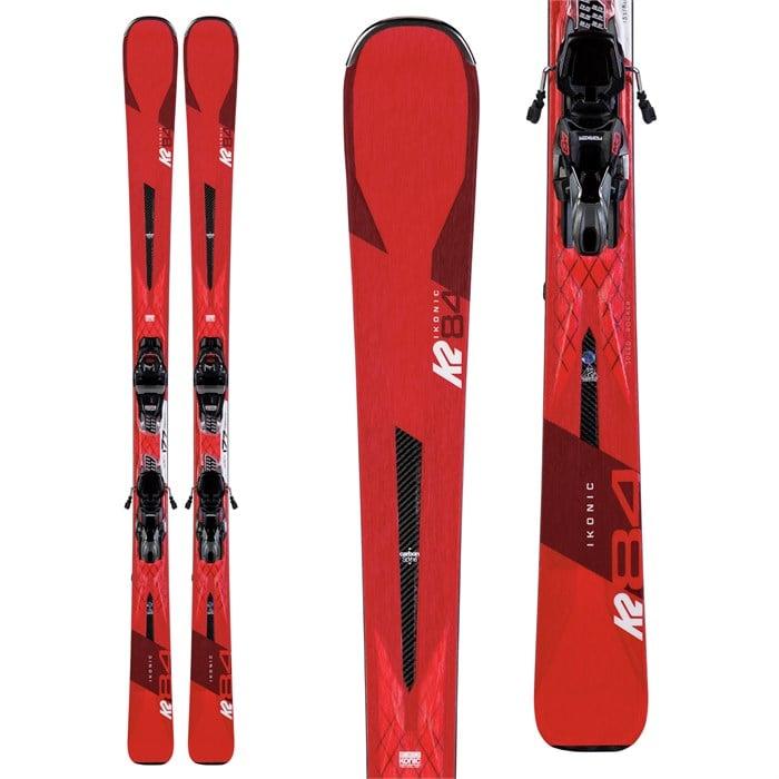 K2 - Ikonic 84 Skis + M3 12 TCX Light Quikclik Bindings 2020