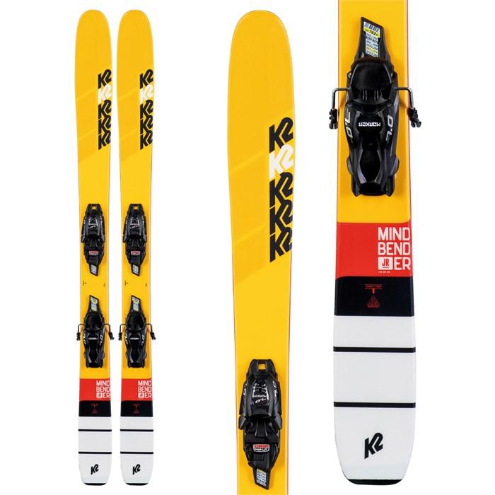 K2 - Mindbender Jr Skis + 7.0 FDT Bindings - Boys' 2020