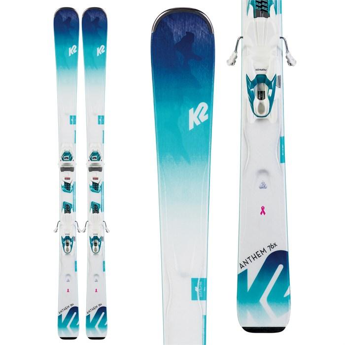 K2 - Anthem 76X Skis + ER3 10 Compact Quikclik Bindings - Women's 2020