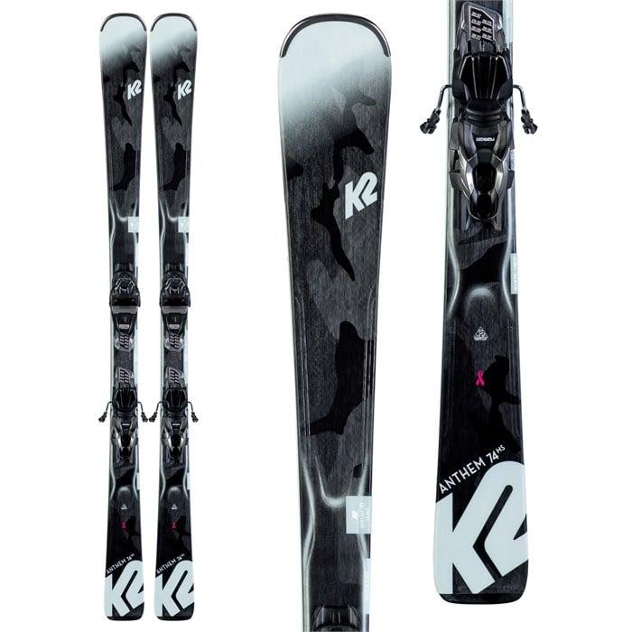K2 - Anthem 74 Skis + ER3 10 Compact Quikclik Bindings - Women's 2020