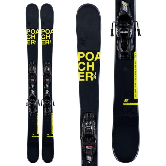 K2 - Poacher Jr Skis + 7.0 FDT Bindings - Boys' 2020