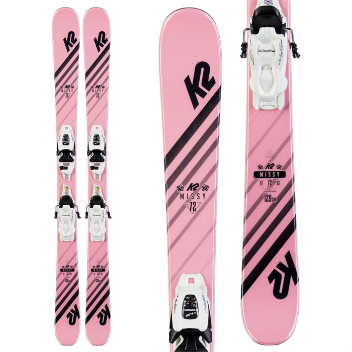 K2 - Missy Skis + FDT 4.5 Bindings - Little Girls' 2020