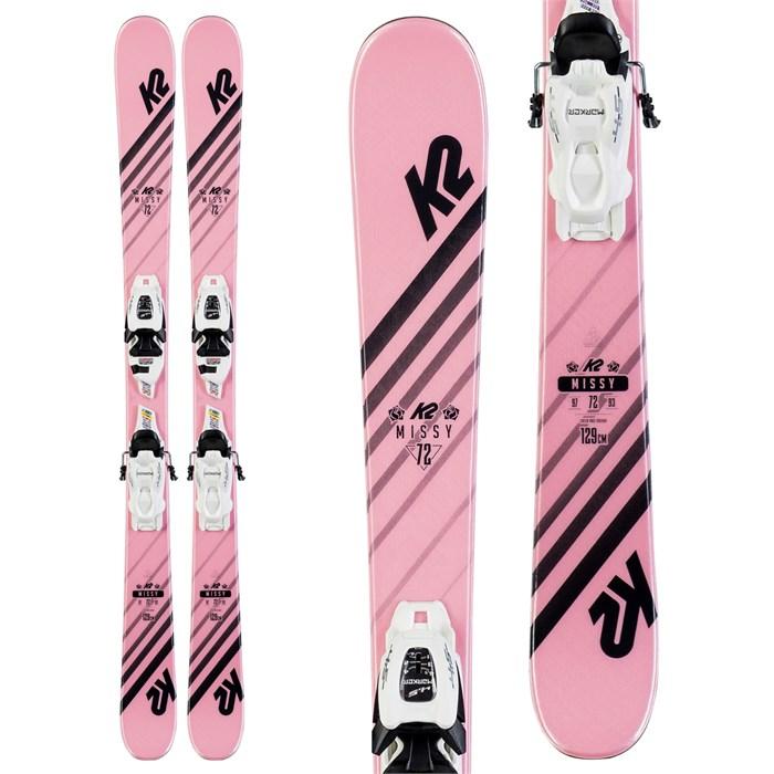 K2 - Missy Skis + FDT 4.5 Bindings - Little Girls' 2020