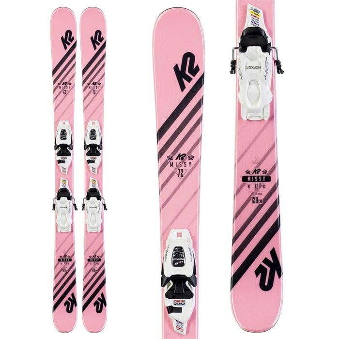K2 - Missy Skis + FDT 7.0 Bindings - Little Girls' 2020