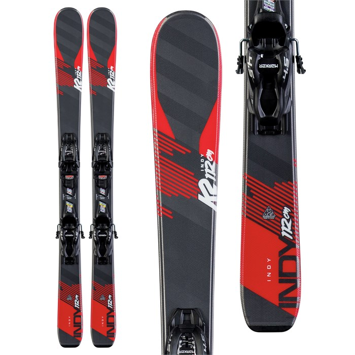 K2 - Indy Skis + FDT 7.0 Bindings - Little Boys' 2020
