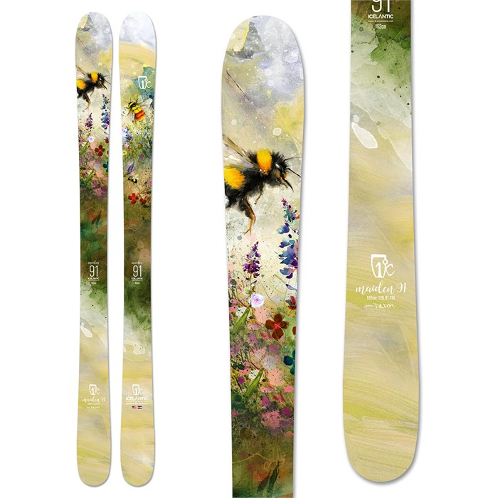 Icelantic - Maiden 91 Skis - Women's 2020