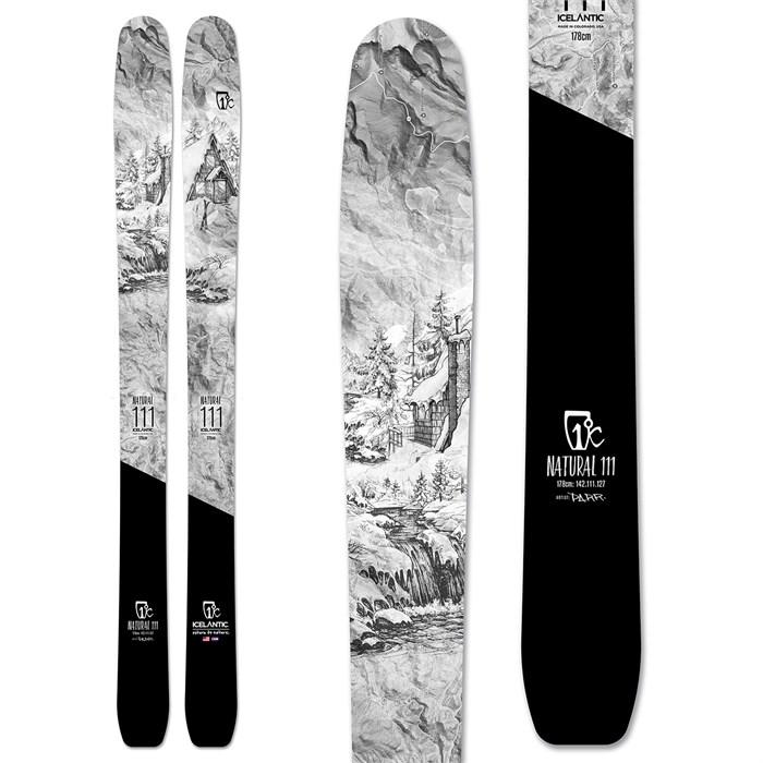 Icelantic - Natural 111 Skis 2020