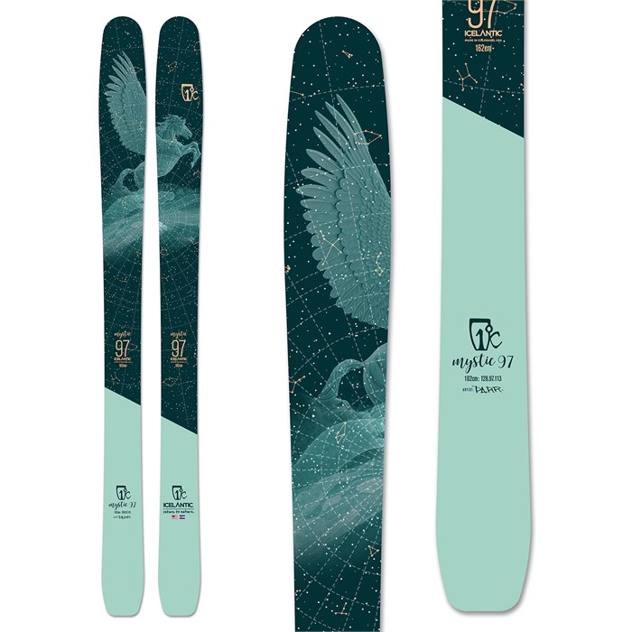 Icelantic - Mystic 97 Skis - Women's 2020