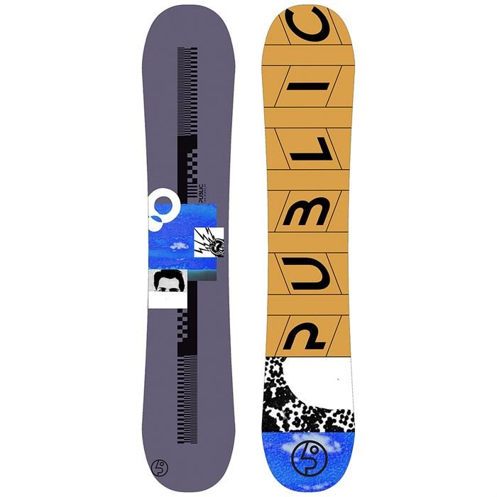 Public Snowboards - Display Mathes Snowboard 2020