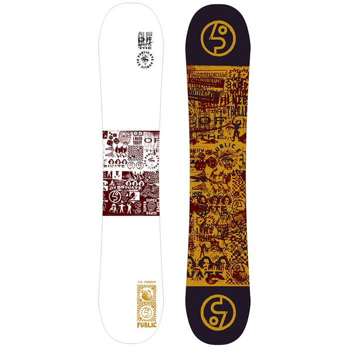 Public Snowboards - Therapy Sexton Snowboard 2020