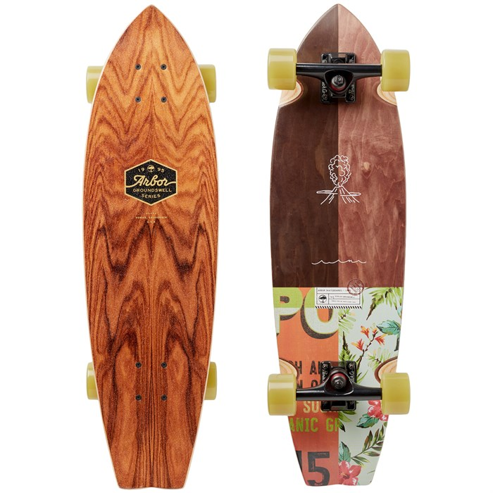 Arbor - Sizzler Groundswell Longboard Complete