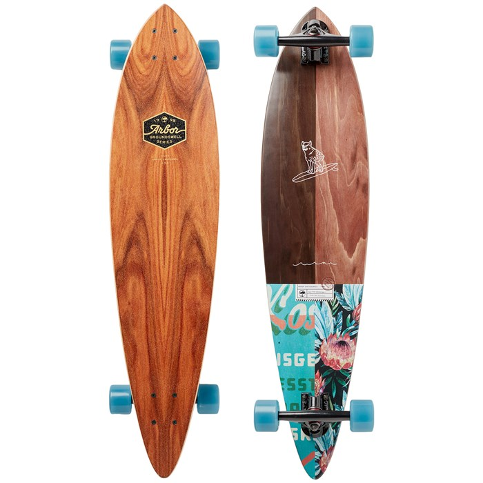 Arbor - Fish Groundswell Longboard Complete