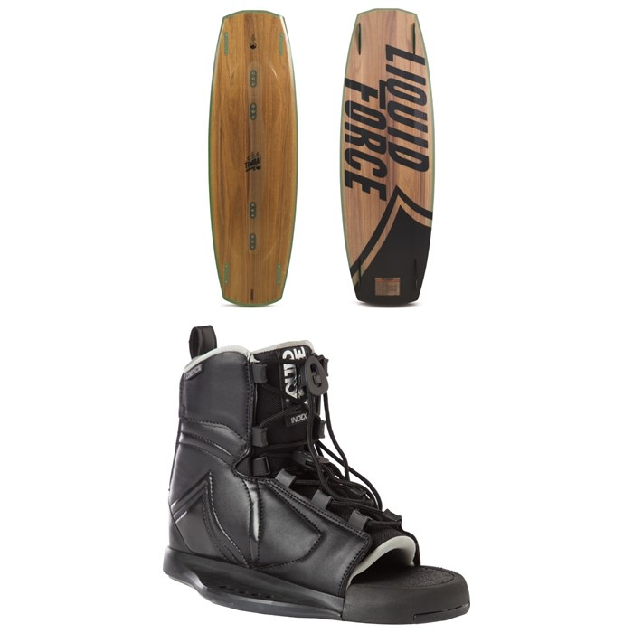 Liquid Force - Timba Wakeboard - Blem + Index Bindings 2018