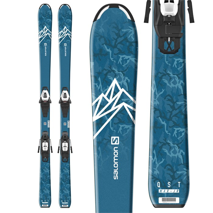 Salomon - QST Max Jr S Skis + C5 GW Bindings - Little Boys' 2021