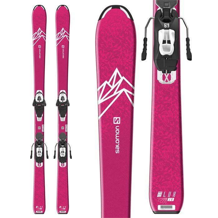 Salomon - QST Lux Jr M Skis + L6 GW Bindings - Girls' 2020