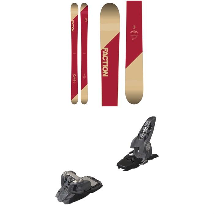 Faction - Candide 3.0 Skis 2019 + Marker Griffon Ski Bindings 2016