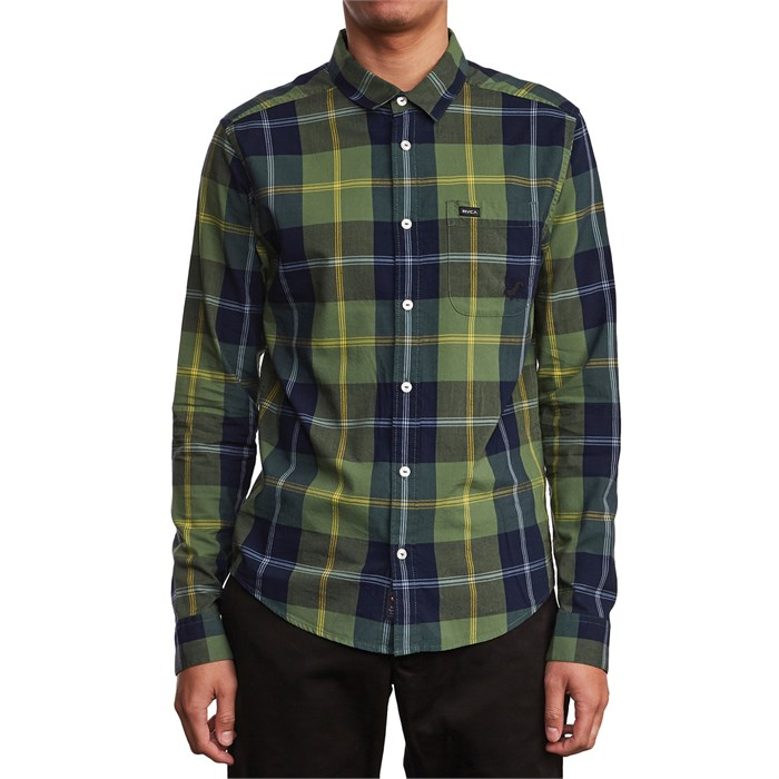 RVCA - Okapi Plaid Long-Sleeve Shirt