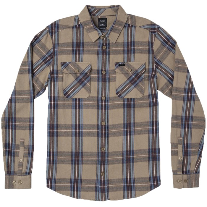 RVCA - Reverberation Long-Sleeve Flannel Shirt