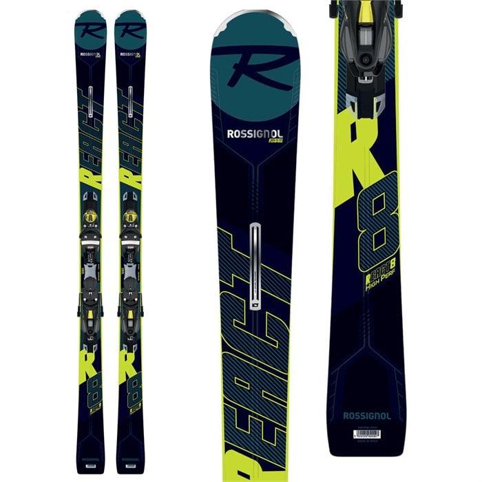 Rossignol - React R8 HP Skis + Konect NX 12 GW Bindings 2020