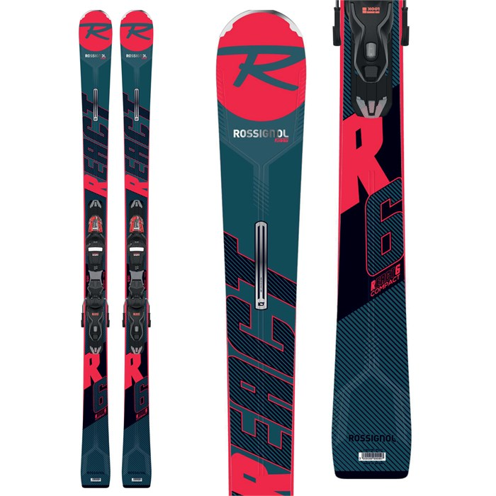 Rossignol - React R6 Compact Skis + Xpress 11 GW Bindings 2020