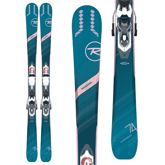 Rossignol - Experience 74 W Skis + Xpress 10 Bindings - Women's 2020