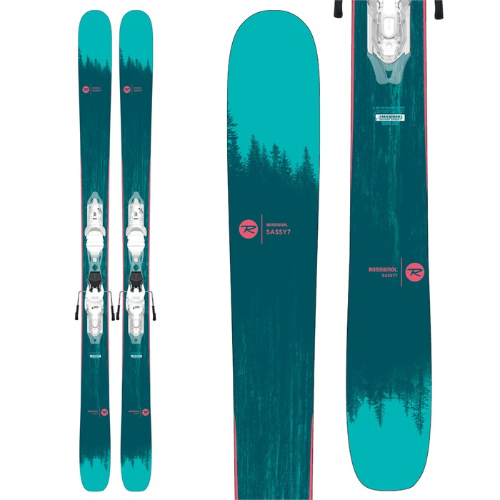 Rossignol - Sassy 7 Skis + Xpress 10 Bindings - Women's 2020