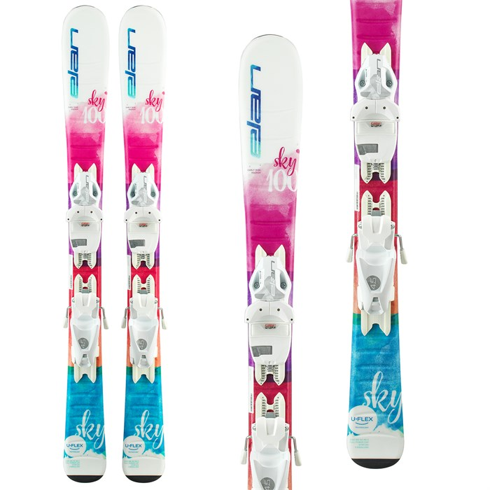 Elan - Sky QS Skis + EL 4.5 Bindings - Little Girls' 2020