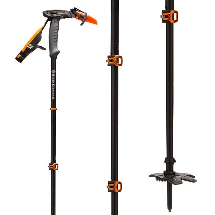 Black Diamond - Carbon Whippet Adjustable Ski Poles 2021