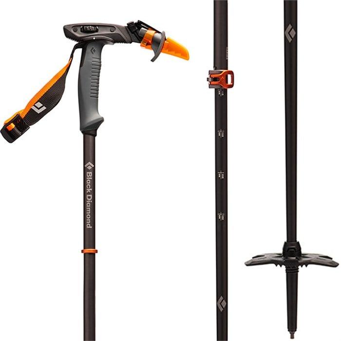 Black Diamond - Carbon Whippet Adjustable Ski Pole 2022
