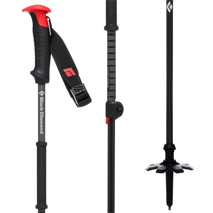 Black Diamond - Razor Carbon Adjustable Ski Poles 2020