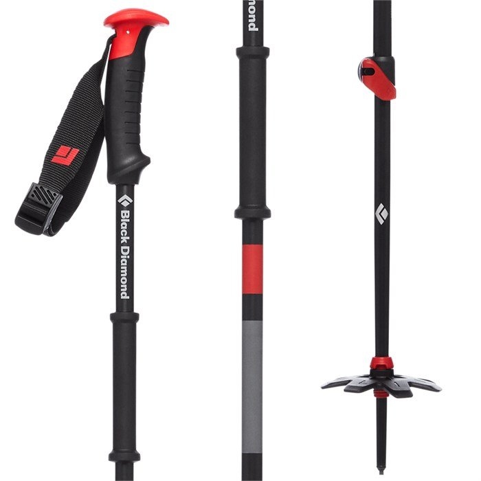 Black Diamond - Traverse Adjustable Ski Poles 2020