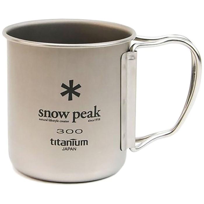 Snow Peak - 300ml Titanium Single-Walled Cup