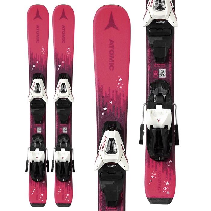 Atomic - Vantage Girl X Skis + C5 GW Bindings - Little Girls' 2021