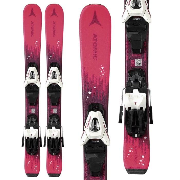 Atomic - Vantage Girl X Skis + C5 GW Bindings - Little Girls' 2022