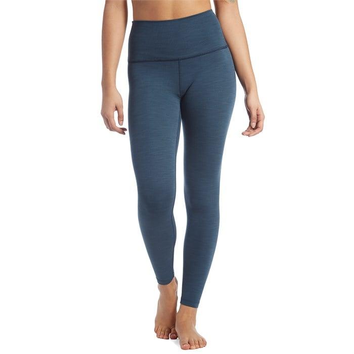 Beyond Yoga - Heather Rib High-Waisted Midi Leggings - Women's