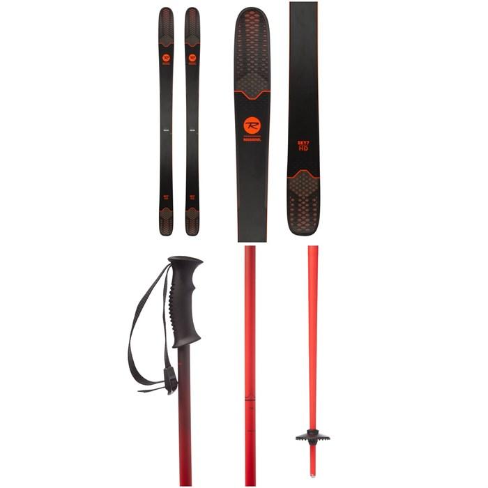 Rossignol - Sky 7 HD Skis + evo Double-E Ski Poles