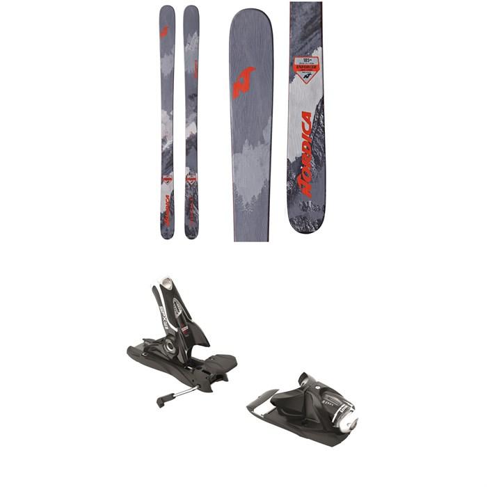 Nordica - Enforcer 93 Skis + Look SPX 12 Dual Bindings